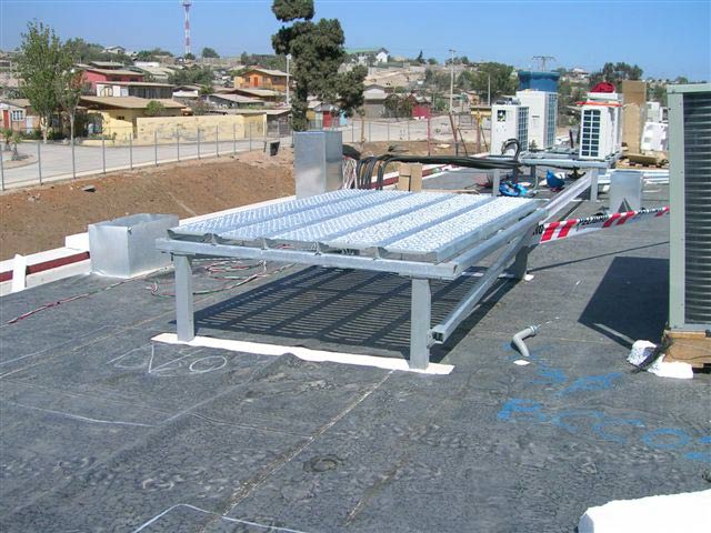 Estructura para equipos - membrana